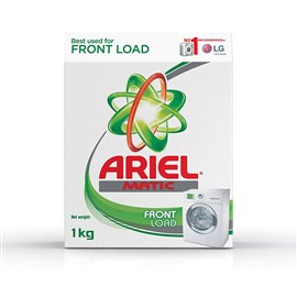 Ariel Matic Front Load Detergent Washing Powder - 1 kg