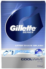 Gillette Series Cool Wave After Shave Splash - 100 ml