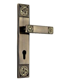 Mastiff Brass Mortise Handles (MB 17-CY)