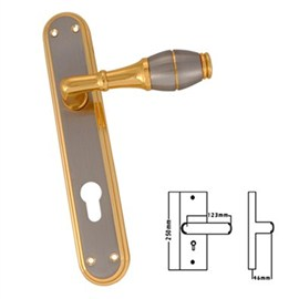 Mastiff Brass Mortise Handles(MB 53-CY)