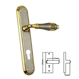 Mastiff Brass Mortise Handles(MB 54-CY)