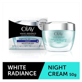 Olay White Radiance Brightening Night Essence 50gm