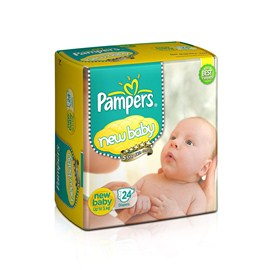 Pampers New born Baby Diaper (24 Count)