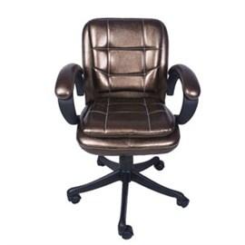 VJ Interior Chiquita Low Back Chair Copper 19 x 20 x 21 Inch VJ-0147