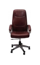 VJ Interior Executive Chair Brown 21 x 23 x 48 Inch VJ-193-EXECUTIVE-HB